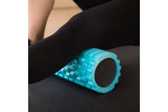 (aqua) - 321 STRONG Foam Roller - Medium Density Deep Tissue Massager for Muscle Massage and Myofascial Trigger Point Release, with 4K eBook