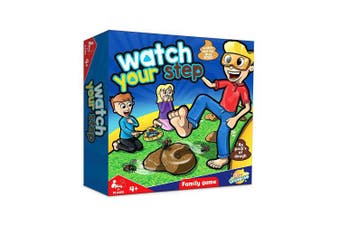 Toyland Watch Your Step ... Family Board Game - Funny Board Games Age 4+ 1 Or More Players