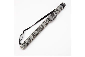 (C001013) - Collapsar 1x1 Hard Pool Cue Billiard Stick Camo Carrying Case -1B1S Camo Nylon Cases (Available in 5 Colours)