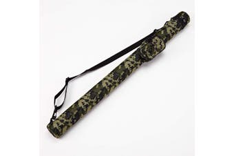 (C001011) - Collapsar 1x1 Hard Pool Cue Billiard Stick Camo Carrying Case -1B1S Camo Nylon Cases (Available in 5 Colours)