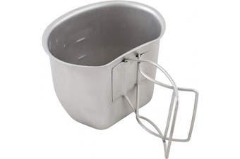 (Silver) - Bushcraft BCB Crusader Cup Canteen