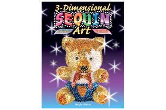 (Teddybär, Sequin Art 3D) - KSG Arts and Crafts 3D Sequin Art 0502 Teddy 3D Polystyrene Model Kit