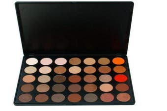 (#2) - FantasyDay Pro 35 Colours Eyeshadow Makeup Palette Cosmetic Contouring Kit #2 - Ideal for Professional and Daily Use