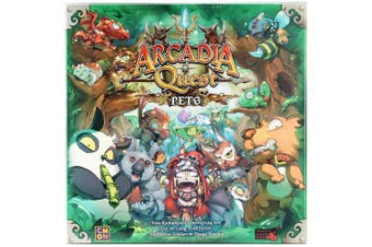 Asmodee CMN0054 Arcadia Quest Pets Extension