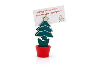 (Christmas Tree Pot, Pack of 1) - eBuyGB Christmas Tree In A Pot Card Name Holder