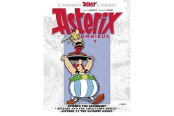 Asterix Omnibus 4: Books 10, 11 & 12: Asterix the Legionary, Asterix and the Chieftain's Shield, Asterix at the Olympic Games
