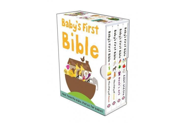 Baby's First Bible: The Story of Moses/Noah's Ark/The Story of Jesus/Adam and Eve