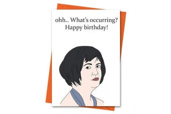 Gavin and Stacey Birthday Card Funny Birthday Card Stacey Card Nessa Card - What's Occurring Birthday Greeting Card