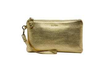 Wristlet,100% Genuine Leather Clutch Bags for Women,Befen Ladies Wristlet Purse With Detachable Wrist Strap & Zip Closure For Evening,Wedding,Travelling, Fit iPhone 8 Plus or Phone Less Than 17cm