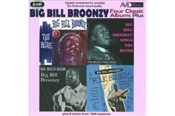 4 Classic Albums Plus- Big Bill's Blues/Sings The Blues/Folk Blues/Blues