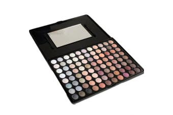 (#1) - PhantomSky 88 Colour Eyeshadow Makeup Palette Cosmetic Contouring Kit #1 - Perfect for Professional and Daily Use