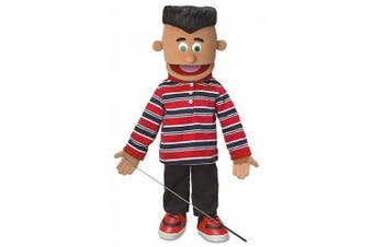 Jose, Hispanic Boy, Full Body, Ventriloquist Style Puppet, 65cm