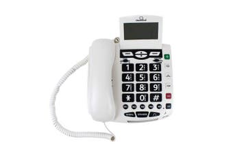 ClearSounds CSC600 UltraClear Amplified Corded Phone with Medical Emergency Buttons - Single-Line Operation, AC Powered