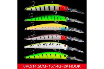 (011-59pcs) - Bass Fishing Lures Kit Set Topwater Hard Baits Minnow Crankbait Pencil VIB Swimbait for Bass Pike Fit Saltwater and Freshwater