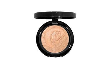 (Satin Glow) - Beauty Deals Baked Finishing Powder Featherlight Sheer Bronzer (Satin Glow)