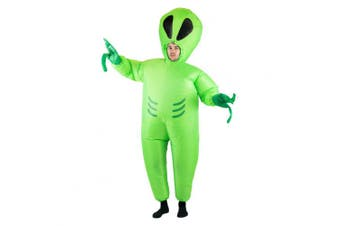 Bodysocks® Inflatable Alien Costume (Adult)