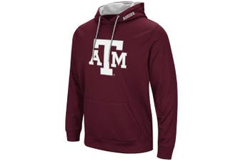 (X-Large, Texas A&M Aggies-Burgundy) - Colosseum Men's NCAA-Elite Zone Pullover Hoodie Sweatshirt