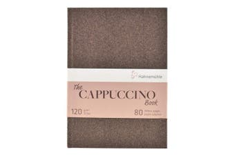 Hahnemuhle, Sketch Book, Cappuccino, A5 (21cm x 15cm ) 120gsm, 40 sheets/80 Pages, Hardbound
