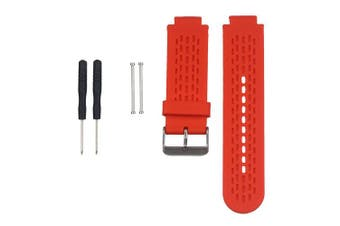 (Red) - AUTRUN Band for Garmin Approach S2/S4, Silicone Wristband Replacement Watch Band for Garmin Approach S2/S4 GPS Golf Watch
