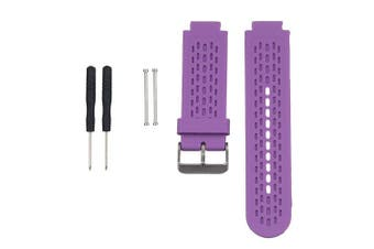 (Purple) - AUTRUN Band for Garmin Approach S2/S4, Silicone Wristband Replacement Watch Band for Garmin Approach S2/S4 GPS Golf Watch