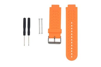 (Orange) - AUTRUN Band for Garmin Approach S2/S4, Silicone Wristband Replacement Watch Band for Garmin Approach S2/S4 GPS Golf Watch