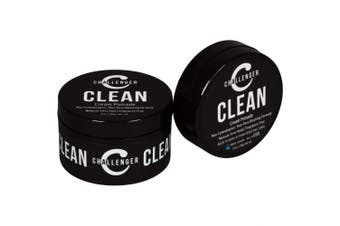(Combo) - New Matte Cream Pomade - Non-Comedogenic, Fragrance Free - Challenger Clean 90ml - Medium Firm Hold - Non-Pore Blocking, Shine Free, Water Based, Travel Friendly. Hair Wax, Fibre, Paste in 1 (Combo)