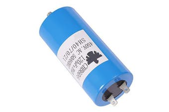 CBB60 Run Capacitor Motor Run Start Capacitor Frequency 50/60Hz 450VAC 450V AC 120uF 120 MFD UL Listed W/Fixing Stud Blue