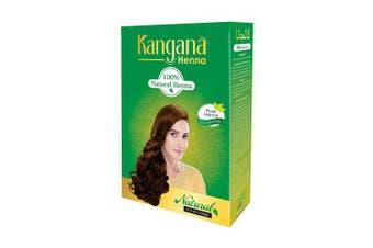 Kangana Henna 100% Natural Henna Powder for Hair - Hair Conditioning Henna Powder for Silky, Soft Hair Naturally - 150 Grammes (160ml)