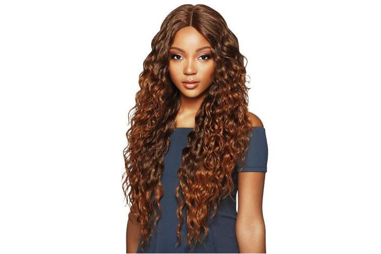 (2) - Outre Synthetic Hair Lace Front Wig Swiss lace 15cm Deep Parting Amara (2)