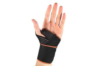 Dilwe Wrist Wraps, Professional Adjustable Wrist Brace with Wider Thumb Loops for Gym Weight Lifting Strength Training Workout