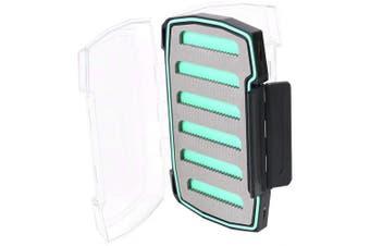 (244, Green) - Wetfly Nitrobox Slotted Foam Fly Tackle Fishing Box