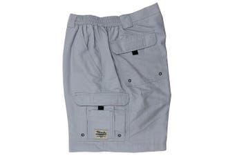 (44, Pearl Gray) - Bimini Bay Outfitters Men's Boca Grande Nylon Short