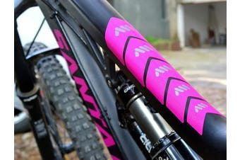 (Magenta) - All Mountain Style High Impact Frame Guard Basic – Protects your bike from scratches and dings
