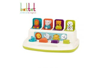 Battat - Pop-Up Pals - Cause Effect Learning Toy Babies