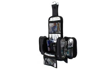 Taskin Kruze Hanging Toiletry Bag w/Built-in 4 Suction Cups