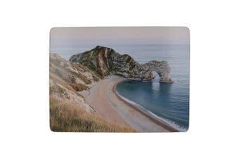 Creative Tops 'Durdle Door' Premium Cork-Backed Placemats, 30 x 23 cm - Multi-Colour (Set of 6)