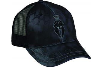 (One Size Fits Most, Kryptek Typhon/Black) - Outdoor Cap Mens Kryptek Performance Mesh Back Cap