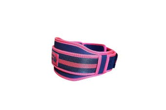 (RED, Medium) - BEAR GRIP - Gym Weight Lifting Neoprene Double Belt Back Lumbar Support Fitness Exercise Bodybuilding