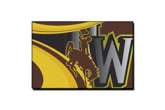 (Wyoming Cowboys) - The Northwest Company Officially Licenced Rug