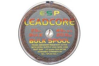 (Sandy Gravel) - ESP Leadcore Bulk