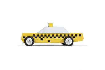 (Taxi) - Candylab Toys - Juniors Taxi Wooden Car - Solid Beech Wood …