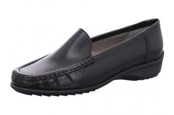 (4.5 UK, Black (Schwarz 01)) - ARA Women's Atlanta 1240101 Loafers