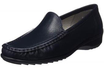 (8 UK, Blue (Blau 32)) - ARA Women's Atlanta 1240101 Loafers