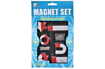 8 Piece Magnets Set - Fun Children's Toys