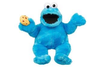 123 Sesame Street 46cm Hand Puppet Cookie Monster Talkls Over 15 Sounds Childrens Kids Cuddly Toy