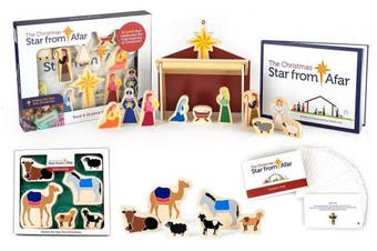 Star From Afar Gift Set - The Christmas Christmas Advent Nativity for Kids - Great Christian or Catholic Gift for Children