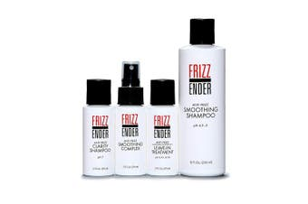 Frizz Ender - Anti Frizz Salon Quality Hair Treatment Kit for Professional Results - Control Frizzy Hair for Up to 4 Weeks!