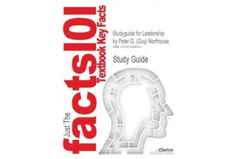 Studyguide for Leadership by Northouse, ISBN 9781412974882