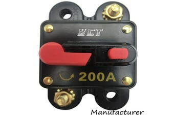(200A) - Car Audio Circuit Breaker Reset Fuse 200A For System Protection 12V/24V …