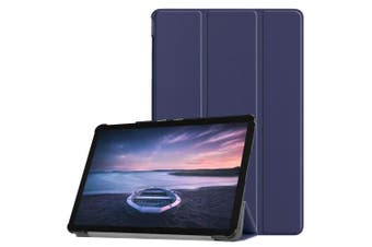 (blue) - YDC Samsung Galaxy Tab S4 10.5 Case-Ultra Lightweight Slim-shell Stand Cover Case with Auto Sleep/Wake Function for Galaxy Tab S4 SM-T830N/T835N 27cm Tablet (blue)
